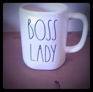 Rae Dunn LL BOSS LADY Mug